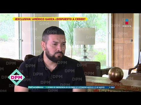 Américo Garza asegura fue la familia de Luna rompió el acuerdo de convivencia con las niñas
