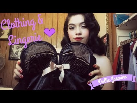 Pinup Birthday Haul!! Top Vintage Retro Boutique,Bettie Page Lingerie Etc..