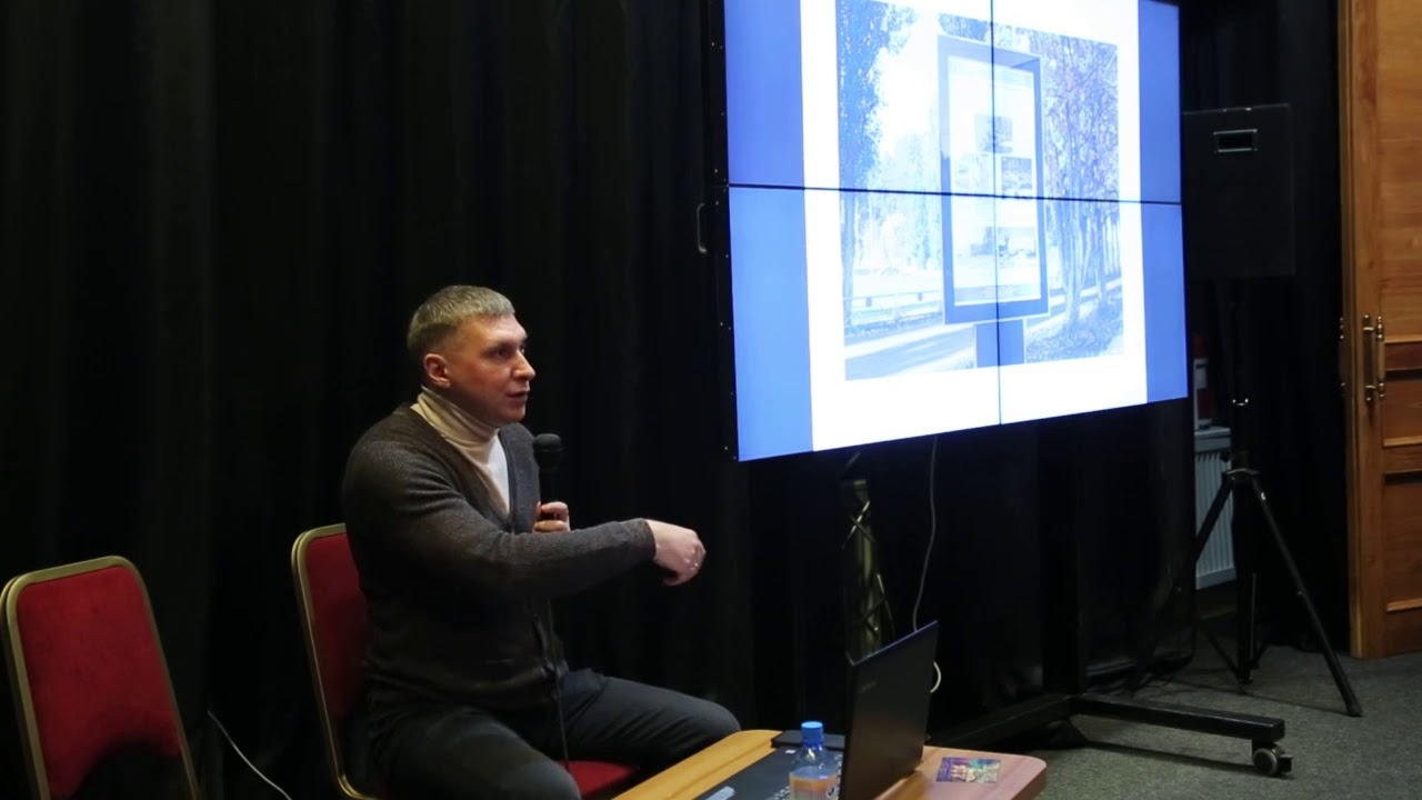 Выступление Виктора Кладова на «Музейном посольстве» 12 февраля 2020 (видео)