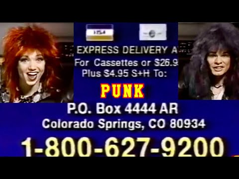 "90s Cringe-Worthy ""Punk"" Album Commercial"