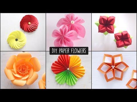 DIY Paper Flowers   Flower Making   Handmade