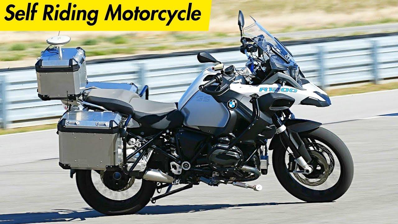 Bmw Self Riding Motorcycle Bmw Autonomous Driving Bike Bmw Self
