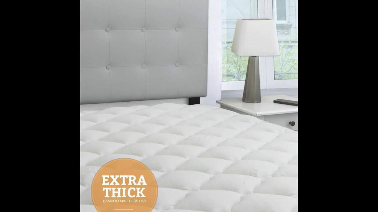 Mattress Topper Thick Eluxurysupply Bamboo Extra Thick Mattress Pad With Fitted Skirt