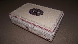 Altered Jewellery Box - Project #25