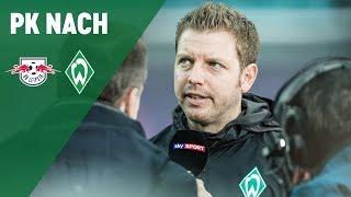 Pressekonferenz mit Ralf Rangnick und Florian Kohfeldt | RB Leipzig - Werder Bremen 3:2