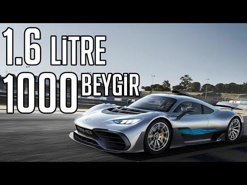 20 MİLYON TL'YE 1.6 OTOMOBİL | Mercedes AMG Project ONE