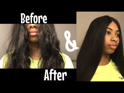 HOW TO| Revive Old Human Hair (Wig)