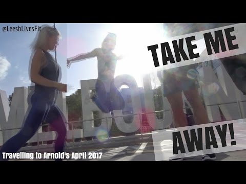 TRAVEL FIT to the ARNOLD'S AU 2017 |  Melbourne Adventure Time