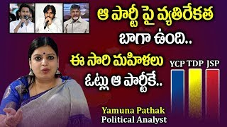 Political Analyst Yamuna Pathak Reports On Women Percentage Of Voting | AP Elections 2019 | Stv News