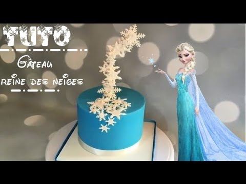 Comment Faire Un Gateau Reine Des Neiges How To Make A