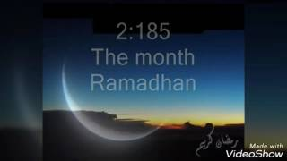 Heart trembelling! Emotional recitation of the verses about Ramadan | Surah al-Baqarah 185-186