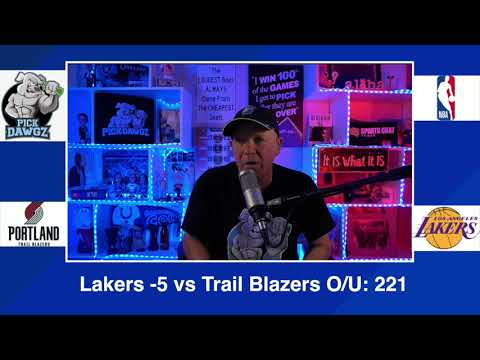 Los Angeles Lakers vs Portland Trail Blazers 2/26/21 Free NBA Pick and Prediction NBA Betting Tips