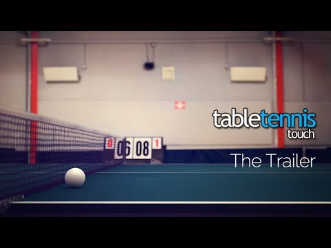 Table Tennis Touch - Official Trailer