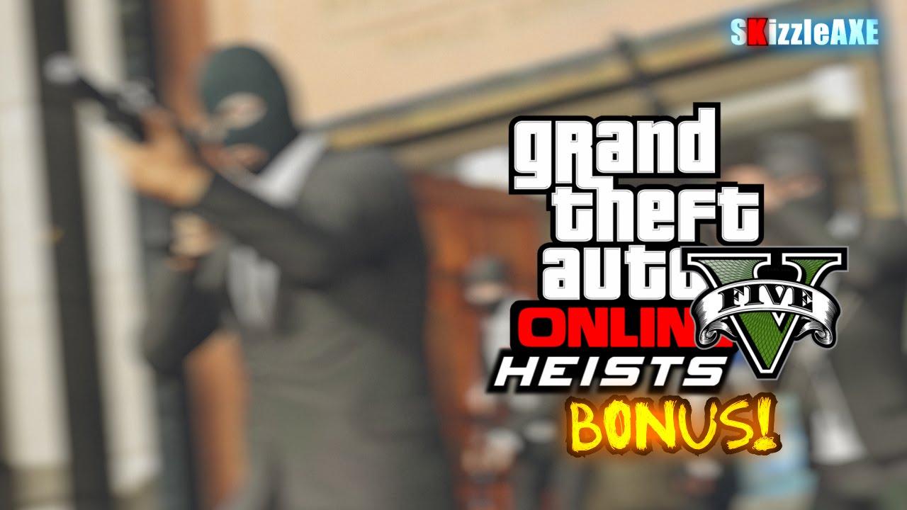 gta heist bonus
