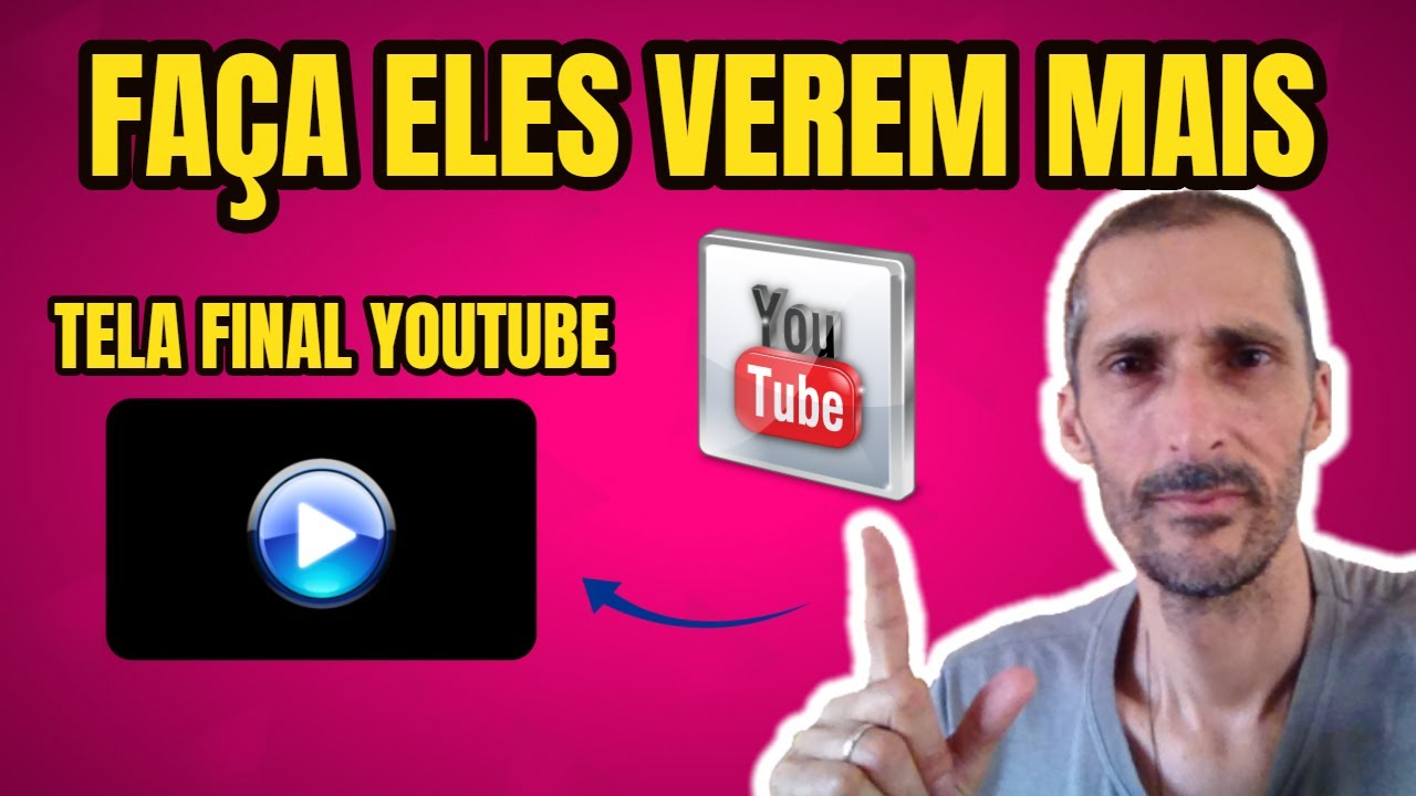 Como Colocar TELA FINAL Nos Vídeos do YOUTUBE - Como CRESCER NO YOUTUBE