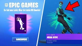 HOLE your FREE OG EMOTE in Fortnite from... (MEGA HYPE)