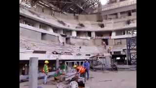 SM Mall of Asia Arena - Interior Construction