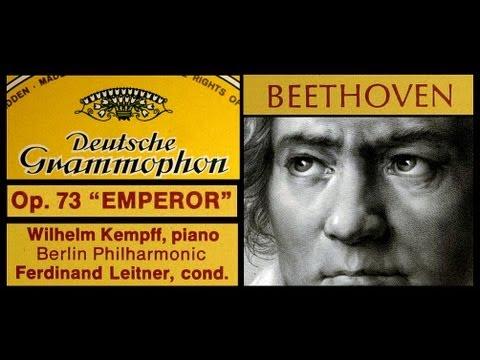 Beethoven / Wilhelm Kempff, 1961: Piano Concerto No 5 E-flat major, Op. 73 - Emperor