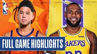 SUNS at LAKERS | FULL GAME HIGHLIGHTS |  January 1, 2020