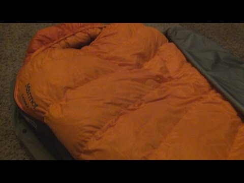 Field Sleeping Bag Test at -3F with a Marmot Gamma