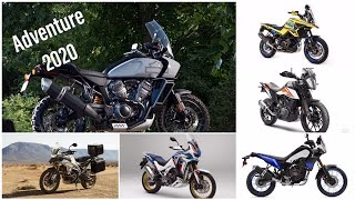 Top 5 New Adventure Motorcycles for 2020 (Comprehensive)