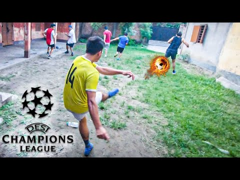 SPIN THE BOTTLE FOOTBALL CHALLENGE 😍   DESI CHAMPIONS LEAGUE FINAL 2021