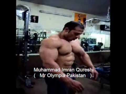 Muhammad Imran Qureshi ( Mr. Olympia Pakistan )