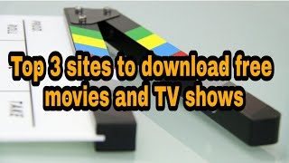 Video Top 3 sites to download movies and TV shows | best site to download free movies and TV shows download MP3, 3GP, MP4, WEBM, AVI, FLV Desember 2017