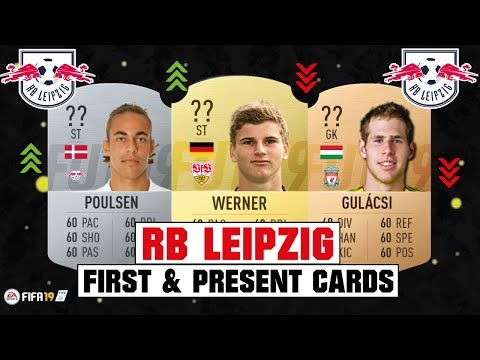 FIFA 19 | RB LEIPZIG FIRST & PRESENT CARDS 🧐💯| FT. WERNER, POULSEN, GULÁCSI... etc