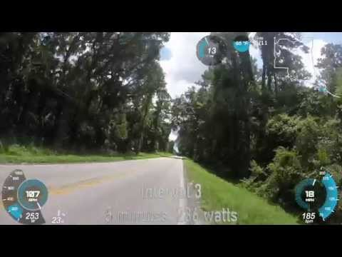 5 5 minute Cycling Intervals, Gainesville, Florida