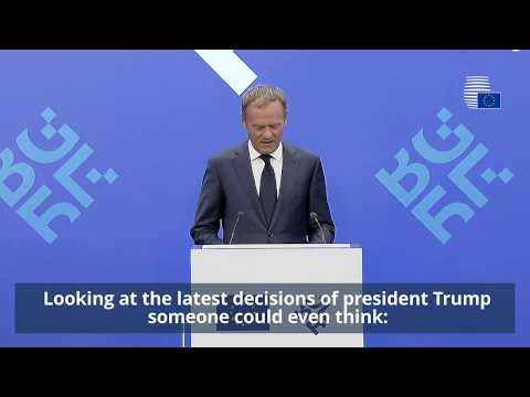 Donald Tusk speaks to the press in Sofia - Highlights