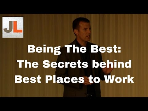 Being the Best: Revealing the Surprising Secrets of America's Best Places to Work