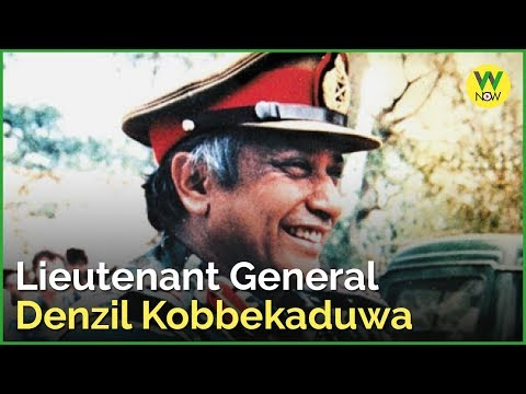 Lieutenant General Denzil Kobbekaduwa