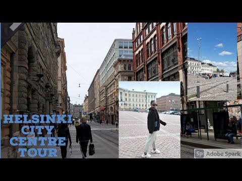 LIVING IN FINLAND VLOG|| Helsinki  city centre tour