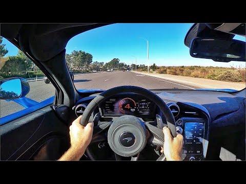2021 McLaren 765LT POV Test Drive (3D Audio)(ASMR)