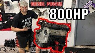 Building The Junkyard Flatty Engine 4.0, Part One!