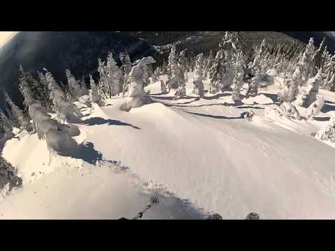 Whitewater backcountry skiing British Columbia