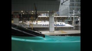 [車窓]東北・北海道新幹線 下り最速達ダイヤ 東京 - 新函館北斗