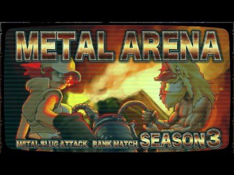 Metal Slug Attack - RANK MATCH / CON 3 FACCIONES 😁🙏