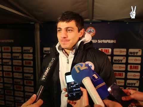 Ruslan Korian post-match commentaries || Armenia 3-2 Cyprus || Friendly || 13.11.2017