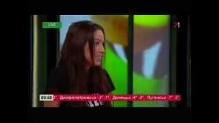 Даша Суворова на М1, Guten Morgen, 25.11.14