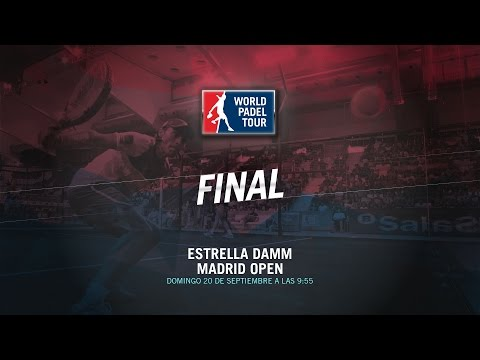 DIRECTO | FINAL Madrid Open | World Padel Tour 2015