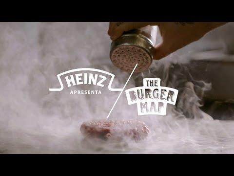 Heinz apresenta The Burger Map