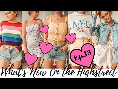 What's New On The Hightreet & Try On || Ep.13 || Topshop, New Look, Primark etc. || COCOA CHELSEA