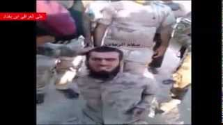 Iraqi army caught a Chechen mercenary that cannot even speak Arabic, but came to kill  28 11 14