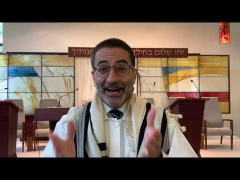 Rosh HaShana Day 1 Sermon 9/19/2020