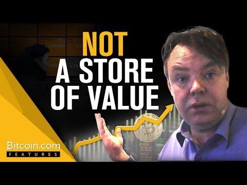 Rick Falkvinge: BTC is NOT a Store of Value | Bitcoin.com Features