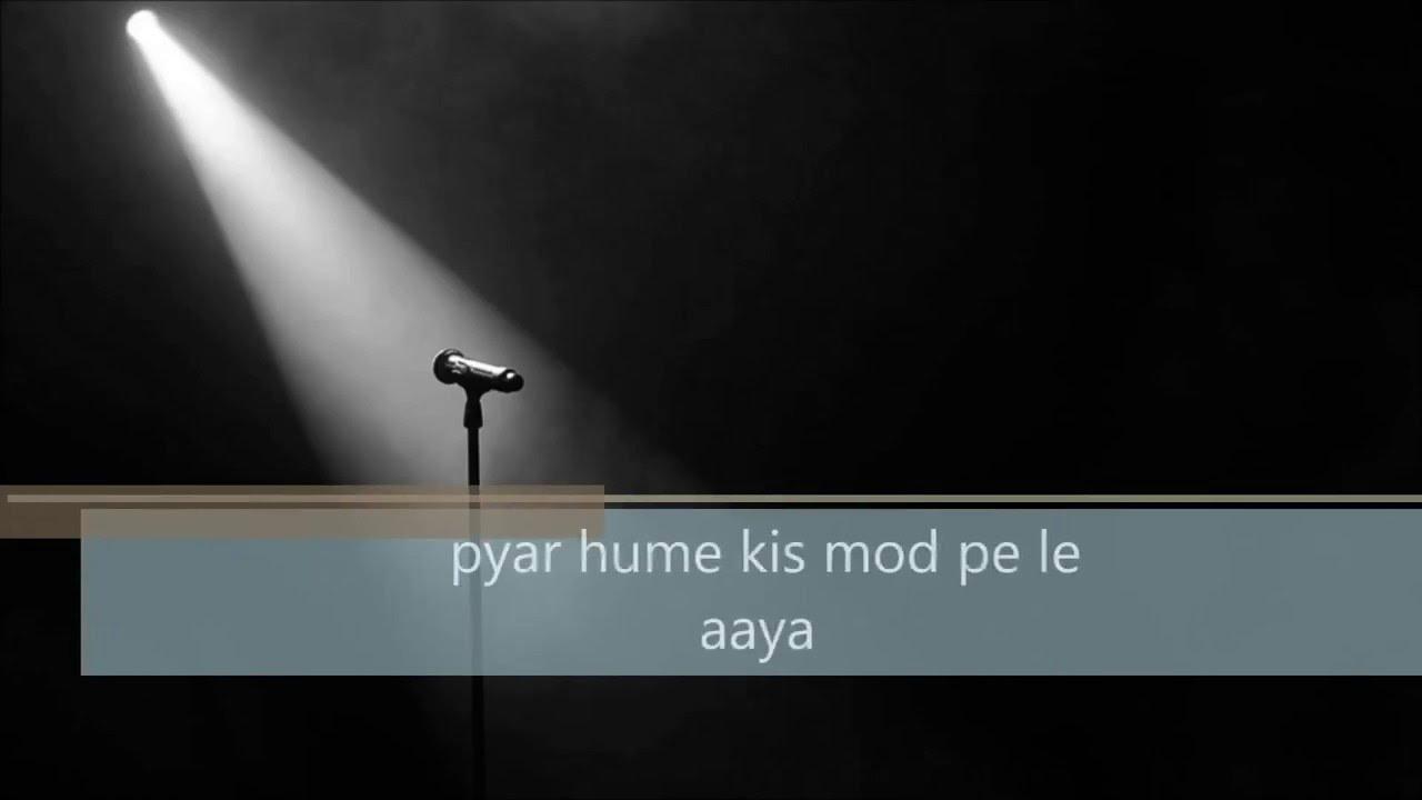 Pyar Hume Kis Mod Pe Le Aaya Guitar Cover