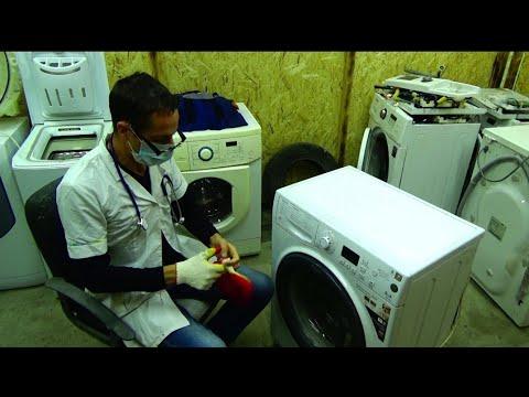 Новый формат! Замена подшипников на стиральной машине хотпоинт аристон!