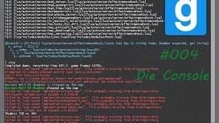Let's play Garry's Mod #004   Einfache Befehle für die Console